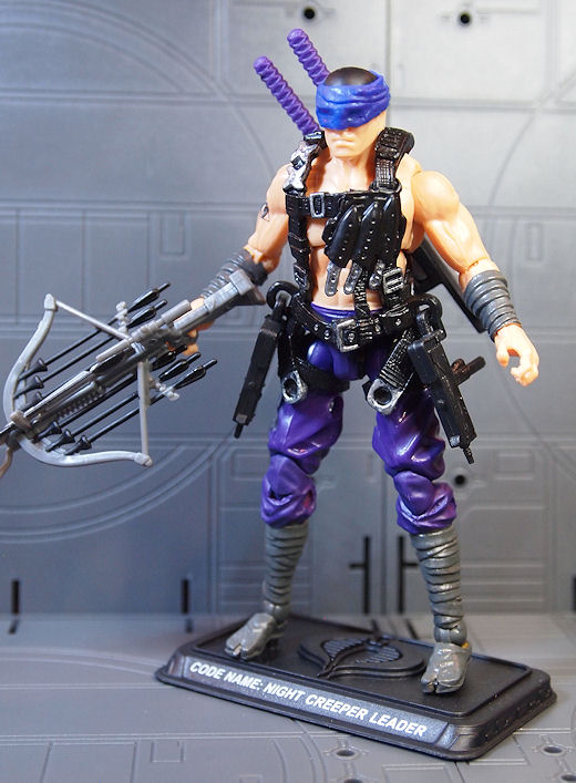 "GI Joe 2008 25th anniversaire STORM SHADOW ninja-Ku leader Noir 3.75/"" FIGURE"